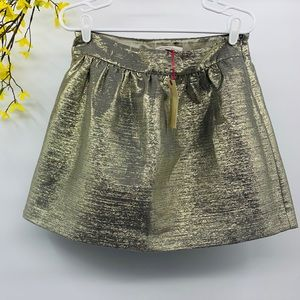 Banana Republic Heritage Collection Gold Skirt 8